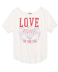 Junk Food-Love Graphic Tee