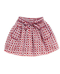 Little Marc Jacobs-Floral Print Woven skirt