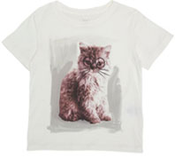 Stella McCartney-Cat-In-Glasses Tee