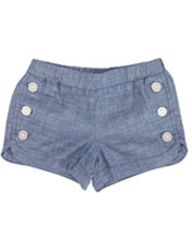 Anthem of the Ants-Chambray Shorts
